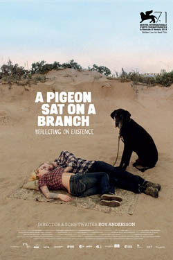A Pigeon Sat On A Branch poster_250