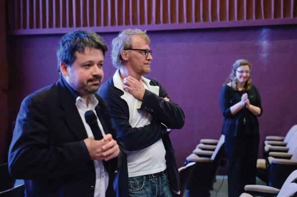 BFF Q&A With Alexey Serebryakov Leviathan & Arkady Spivak, Talk is Free Theatre Artistic Director