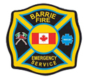 Barrie Fire Emergency Service logo