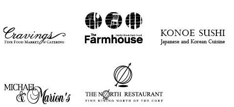 Catering - five restaurants
