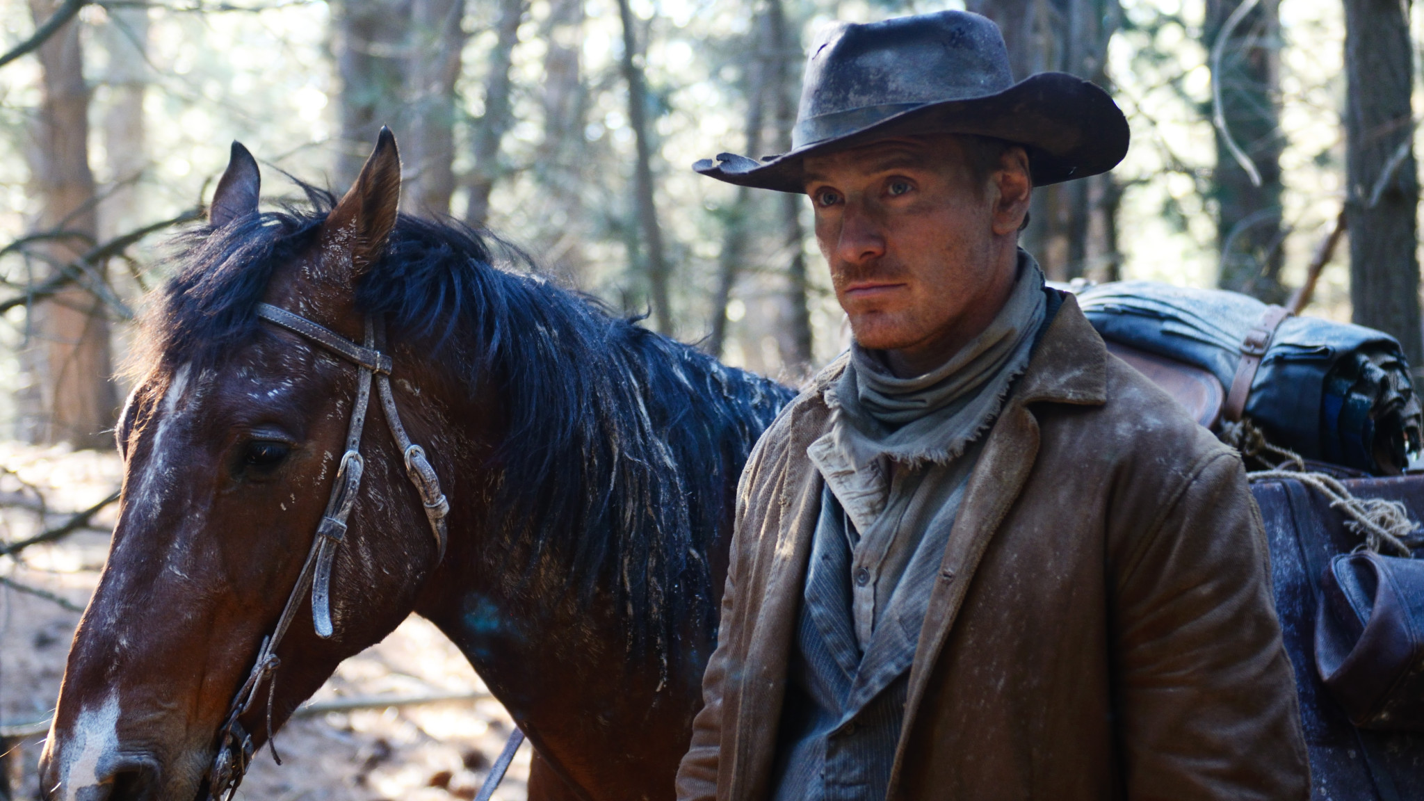 Slow West with Michael Fassbender
