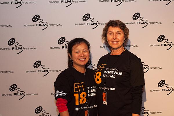 Barrie Film Festival Volunteers #BFF #Volunteers