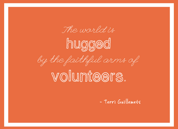 Volunteers Quotes